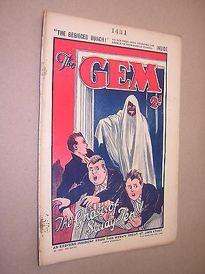 THE GEM. JULY 20th 1935. SCHOOLBOY'S PAPER. COMIC. TOM MERRY OF ST. JIM'S etc.