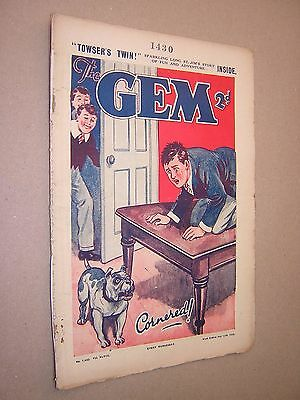 THE GEM. JULY 13th 1935. SCHOOLBOY'S PAPER. COMIC. TOM MERRY OF ST. JIM'S etc.