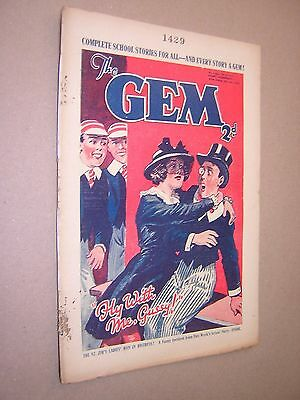 THE GEM. JULY 6th 1935. SCHOOLBOY'S PAPER. COMIC. TOM MERRY OF ST. JIM'S etc.