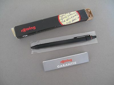 Rotring 600 Newton Ballpoint Black Mate  New Old Stock In Box