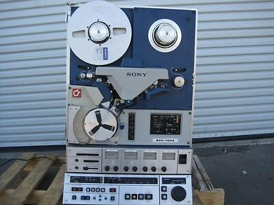 Sony Broadcast BVH-1100A 1 High Band Video Recorder 1977 VTR Editing Board
