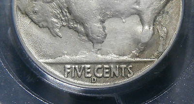 USA - Nickel 1937d three legs - 5 cents 3-legged variety 1937 D - PCGS certified