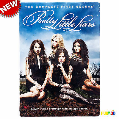 Pretty Little Liars : The Complete First Season 1 - DVD 5-Disc Set NEW