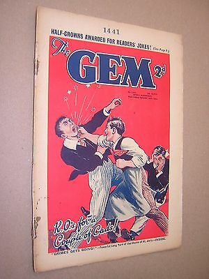 THE GEM. SEPT 28th 1935. SCHOOLBOY'S PAPER. COMIC. TOM MERRY OF ST. JIM'S etc.
