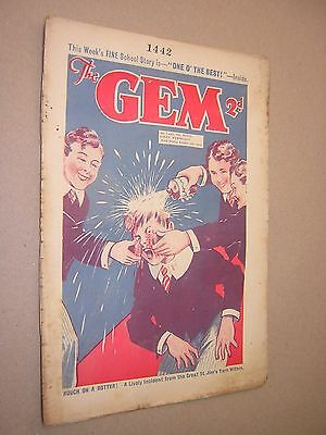 THE GEM. OCT 5th 1935. SCHOOLBOY'S PAPER. COMIC. TOM MERRY OF ST. JIM'S etc.