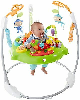 Fisher-Price ROARIN RAINFOREST JUMPEROO Rotating Seat BABY JUMPER 3E []