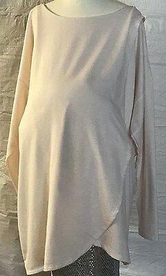 MATERNITY NURSING OLD NAVY Pullover top Size XXL Pink Long Sleeve NWOT
