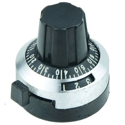 10-Turn Counting Dial Knob 22mm