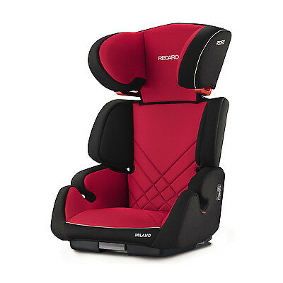 Recaro Milano Seatfix Racing Red Child Seat (15-36 kg) (33-80 lbs)