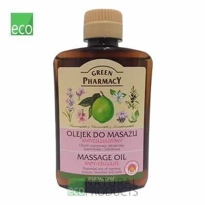 Green Pharmacy Massage Oil Anti Cellulite 200ml