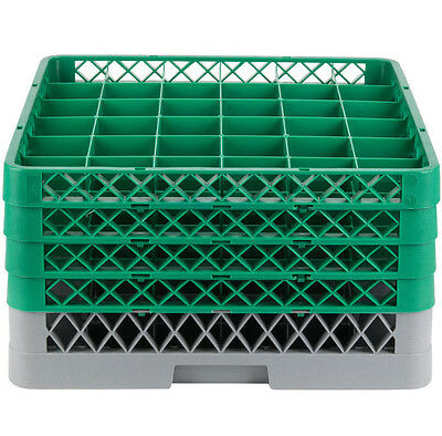 NEW Commercial Dishwasher Dish Washer Machine 36 Cup Glass Tray Rack 4 Extenders