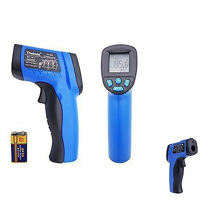 Temperature Gun Non-contact Infrared IR Laser Thermometer  Digital 9V Batteries