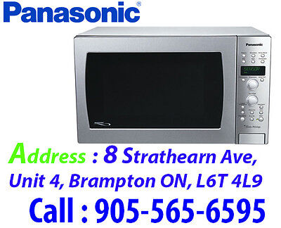 Panasonic Countertop Microwave - 1.5 Cu. Ft. - Stainless Steel NNCD989S