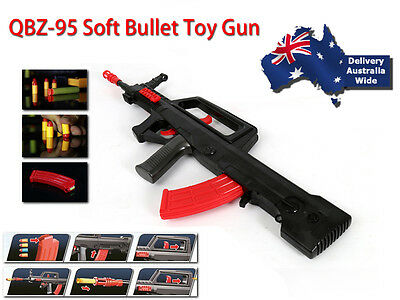 95 toy gun assault rifle prop gun costume gun rifle  rubber bullets