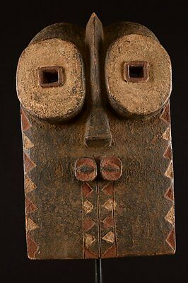 Old Bembe Mask Congo African Fes-232