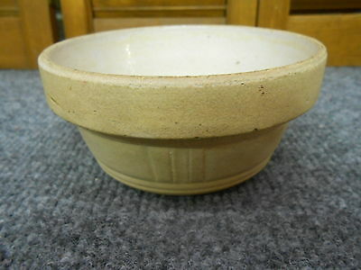 Antique Early  Small Crockery Kitchen  Bowl
