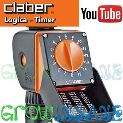 Claber Logica - Dial Programmable Automatic Water Timer Controller Electronic