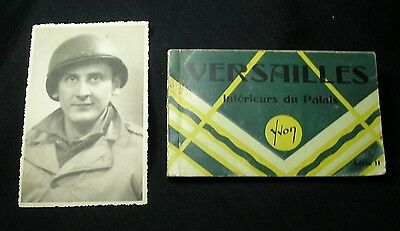 World War II…VERSAILLES Series II by Yvon Photo Post Cards+Original Army Photo