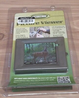 "Moultrie Digital Picture Viewer 2.8"" Screen NEW"