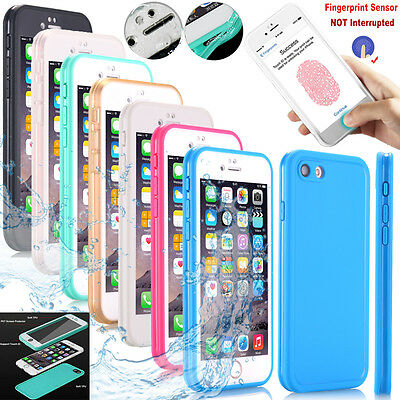 Ultra Thin Waterproof Shockproof Hybrid TPU Case Cover For iPhone X 8 7 6S Plus