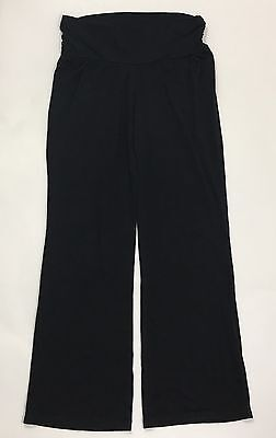 SALE! Bump In The Night Women's Maternity Pants Bottoms Black SIZE Large