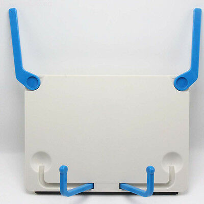 Portable Book Holder Folding Tablet Data Reading bookend clip Table desk stand