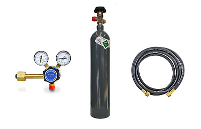 Nitrogen Kit C Size with Gas, Hose & Regulator NEVER PAY RENT and FREE DELIVERY