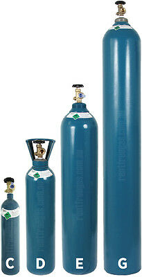 Pure Argon Gas E Size Refillable Cylinder NEVER PAY RENT SYDNEY & ADELAIDE