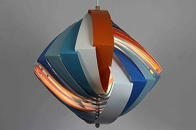 Very Rare Iconic Danish Konkylie Lamp By Simon Weisdorf Made For Japanese Market