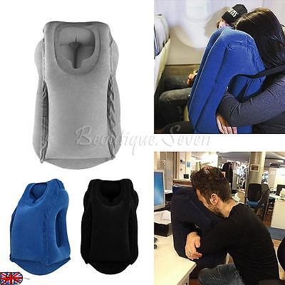 New Hot Travel Inflatable Neck Pillow Air Filled Airplane Cushion