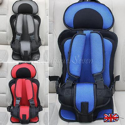 Portable Safety Baby Child Car Seat Toddler Infant Adjustable Booster Chair