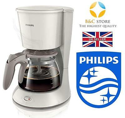 ! NEW Philips Daily Collection Coffee maker HD7461 glass jug Silk Beige fresh !
