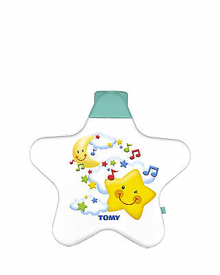 Baby Night Light Projector Starlight Dreamshow Portable Musical Cot Toy by Tomy