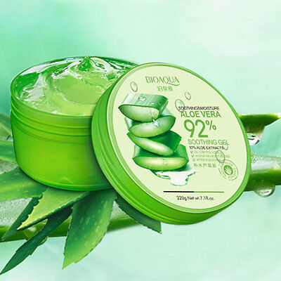 Natural Fresh Replenishment Moisturiser Kill Bacteria Soothe Skin Aloe Vera AL