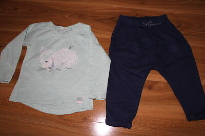 NEXT girls Whale top trousers bundle 12-18 months *I'll combine postage