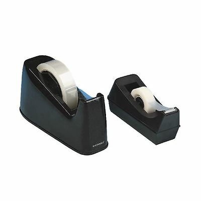 Q-Connect Small Tape Dispenser Black KF01294 [KF01294]