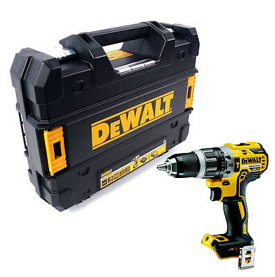 Dewalt DCD796N 18v Li-Ion XR Brushless Combi Drill Body DCD796 + TsTak Case Sml
