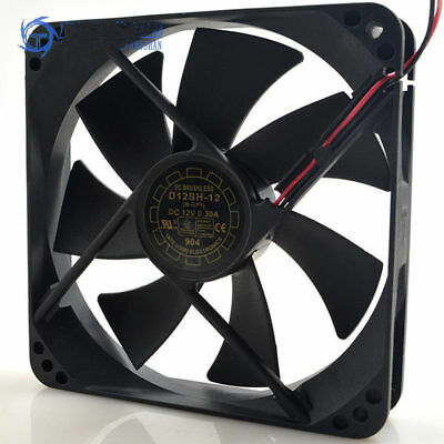 Yate Loon D12SH-12 12V 0.30A 2pin Cooler Cooling Fan Silent 19dB120*120*25mm
