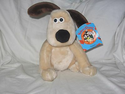 Gromit plush toy with tag