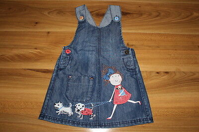 NEXT girls dungarees dress 18-24 months *I'll combine postage