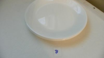 Set Of 4  Corelle  Winter Frost White  Luncheon Plates   8 1/2 Inch