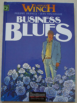 Largo Winch T 4 Business Blues P FRANCQ & Van HAMME éd Dupuis rééd