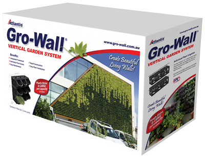 Atlantis Gro-Wall 4 Kit Complete Vertical Garden Kit