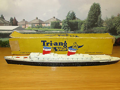 67Fp Vintage Tri-Ang Minic 1/1200 Scale M.704 S.s.united States **all Original**