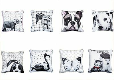 3D 18x18 Animals Cushion And Cushion Covers