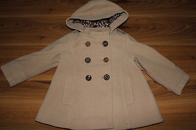 NEXT girls duffle coat 18-24 months *I'll combine postage