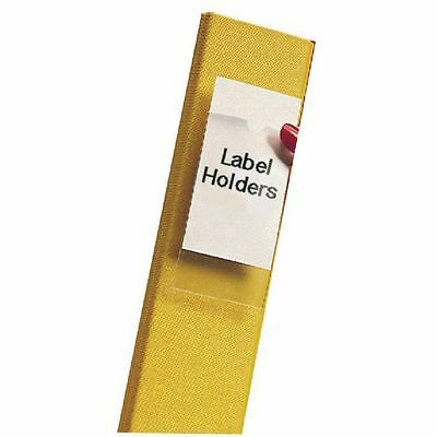 Pelltech Clear/White Label Holders 55x102mm (Pack of 6) 25330 [LX25330]