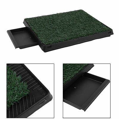 Indoor Pet Dog Grass Mat Potty Training Pad Toilet Clean Pad Tray Ourdoor SA