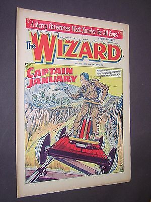 The Wizard. Christmas Xmas Issue 1961. Boy's Comic - Story Paper.