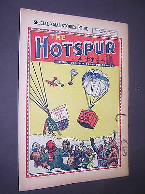 The Hotspur. Christmas Xmas Issue 1946. Boy's Comic - Story Paper.